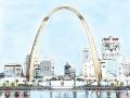St. Louis Skyline Art