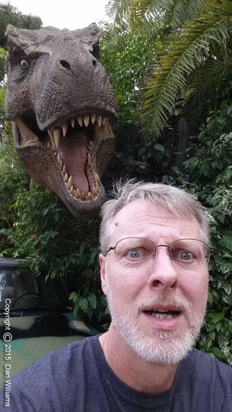 Me at Universal Studios